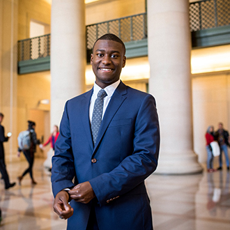 Nuclear Engineering Student Advocates for Change on Campus and Capitol Hill